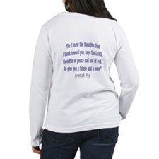 Jeremiah 29:11 NKJV - women's Long Sleeve T-Shirt
