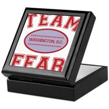 2-team fear Keepsake Box