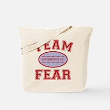 2-team fear Tote Bag
