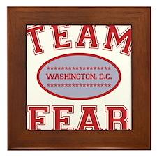2-team fear Framed Tile