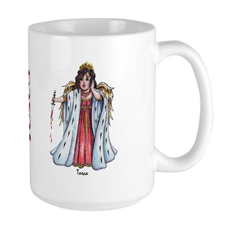 amore_tosca_mug Large Mug