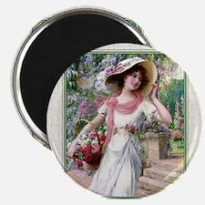 1-JAN - VERNON The Flower Garden T Magnet