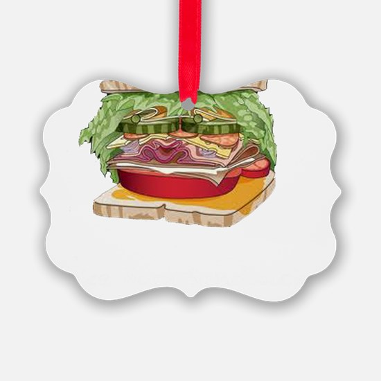 Ham Sandwiches Ornament