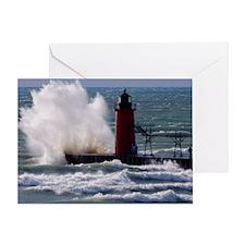 0001-Lighthouse (110) Greeting Card