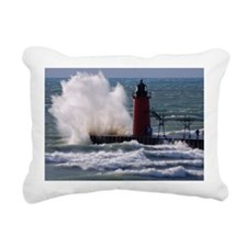 0001-Lighthouse (110) Rectangular Canvas Pillow