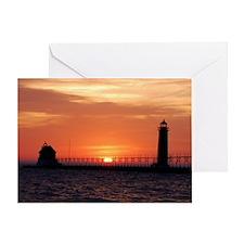 0001-Lighthouse (100) Greeting Card