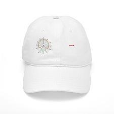 polar_pattern_mug Baseball Cap