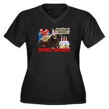 Honey Badger Happy Freakin' Birthday Women's Plus