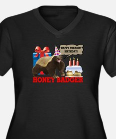 Honey Badger Happy Freakin' Birthday Women's Plus