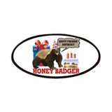 Honey badger don 27t care Patches