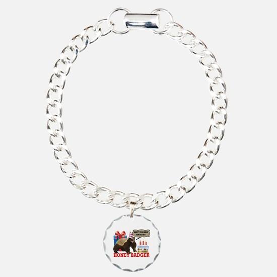 Honey Badger Happy Freakin' Birthday Bracelet