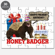 Honey Badger Happy Freakin' Birthday Puzzle