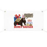Honey badger Banners