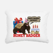 Honey Badger Happy Freakin' Birthday Rectangular C