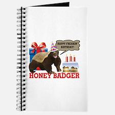 Honey Badger Happy Freakin' Birthday Journal
