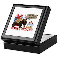 Honey Badger Happy Freakin' Birthday Keepsake Box