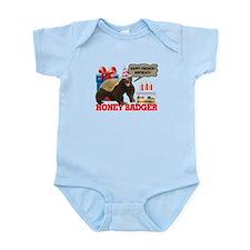 Honey Badger Happy Freakin' Birthday Infant Bodysu