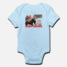 Honey Badger Happy Freakin' Birthday Infant Bodysu