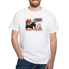 Honey Badger Happy Freakin' Birthday Shirt
