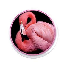 "yule flamingo 3.5"" Button"