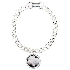 yule snake2 Charm Bracelet, One Charm