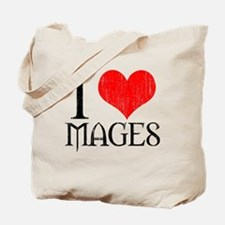 I Love Mages Tote Bag