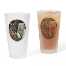 yule tigers Drinking Glass