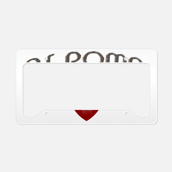 as roma License Plate Holder
