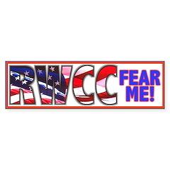 Fear Me RWCC Bumper Bumper Sticker