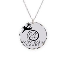 were going down, crash Necklace
