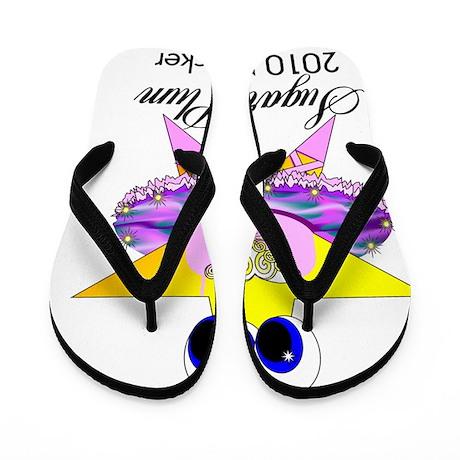 sugar plum 2010 Flip Flops