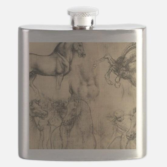 Leonardo da Vinci' Horse Flask