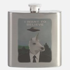 UFOs and Unicorns Flask