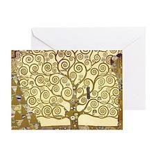 Tree of Life by Gustav Klimt Greeting Card
