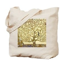 Tree of Life by Gustav Klimt Tote Bag