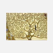 Tree of Life by Gustav Klimt Rectangle Magnet