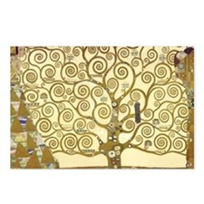 Tree of Life by Gustav Kl Postcards (Package of 8)