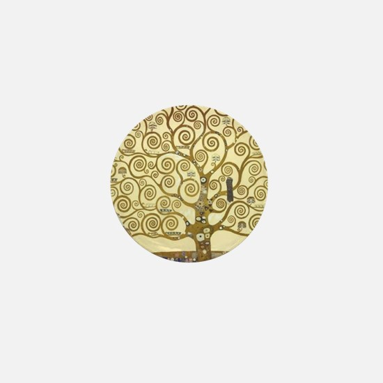 Tree of Life by Gustav Klimt Mini Button