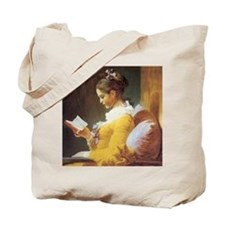jf_ayounggirlreading Tote Bag