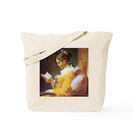 jf_ayounggirlreading Tote Bag