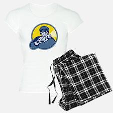 burglar thief mugger with f Pajamas