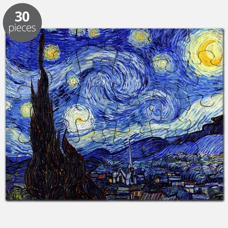 Starry Night by Vincent van Gogh Puzzle