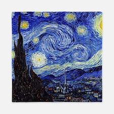 Starry Night by Vincent van Gogh Queen Duvet