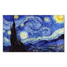 Starry Night by Vincent van Go Decal