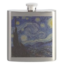 Starry Night by Vincent van Gogh Flask