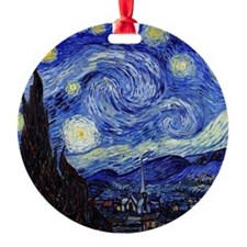 Starry Night by Vincent van Gogh Ornament