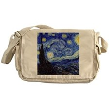 Starry Night by Vincent van Gogh Messenger Bag