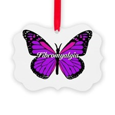 FIBROMYALGIA MONARCH Ornament