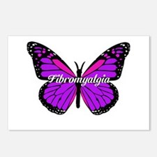 FIBROMYALGIA MONARCH Postcards (Package of 8)