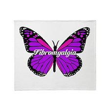 FIBROMYALGIA MONARCH Throw Blanket